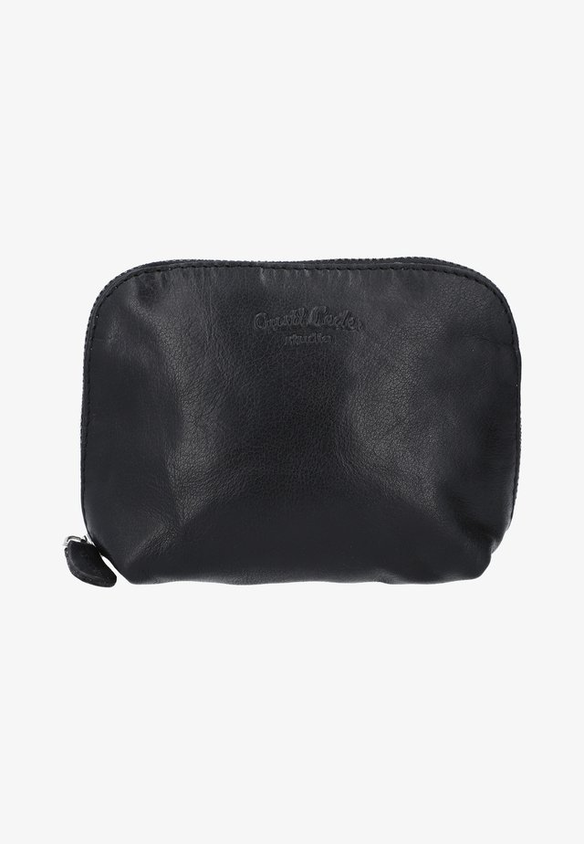 Toiletti-/meikkilaukku - schwarz-silber