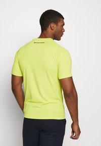 Tommy Sport - TRAINING CHEST LOGO  - Print T-shirt - green - 2