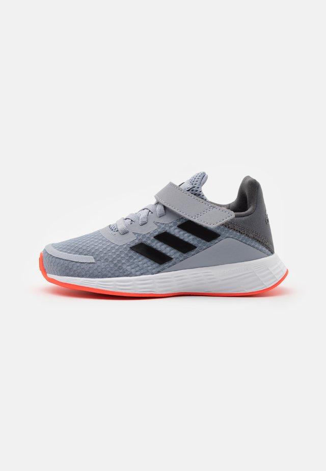 DURAMO SL UNISEX - Hiking shoes - core black/solar red
