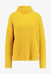 Liu Jo Jeans - MAGLIA CHIUSA  BOTTONI - Pullover - light yellow - 5