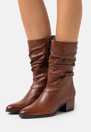 BOOTS - Boots - cognac