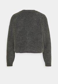 ONLY - ONLELINOR CARDIGAN - Cardigan - dark grey melange - 1