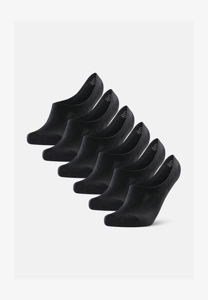 BAMBOO 6 PACK - Sukat - black