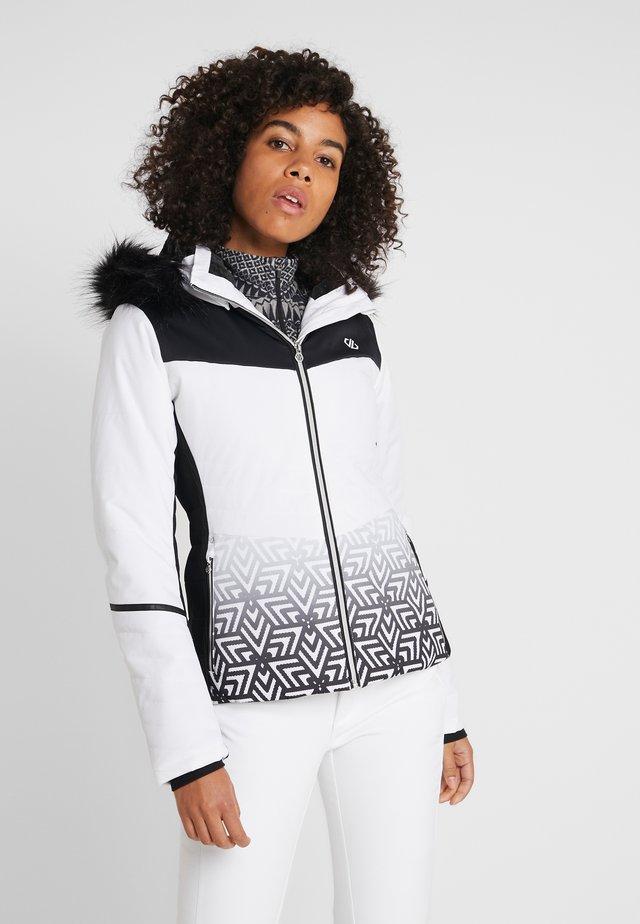 ICEGLAZE JACKET - Ski jacket - white