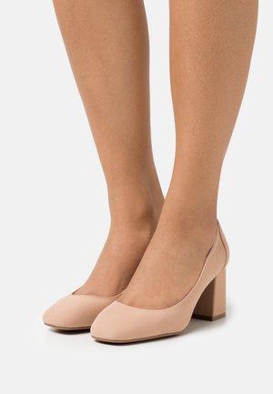 NESSA - Classic heels - dark beige
