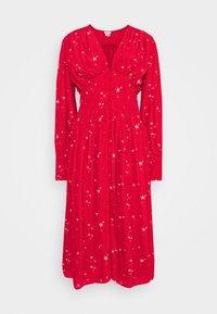 Ghost - CORA DRESS - Vestito estivo - red - 4