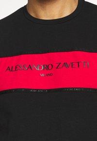 Alessandro Zavetti - RIMASCO TEE - Print T-shirt - black - 3