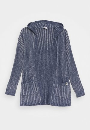 LONG - Cardigan - nighshadow blue marl