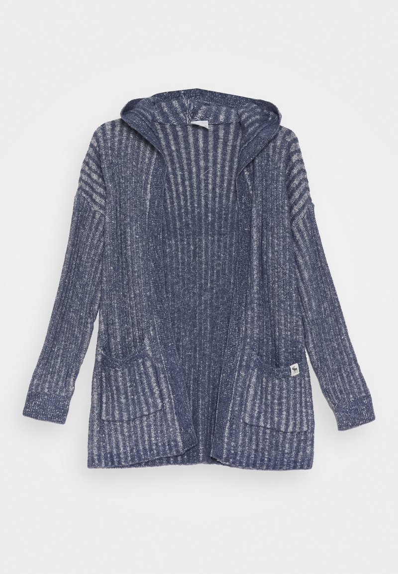 Abercrombie & Fitch - LONG - Kardigan - nighshadow blue marl