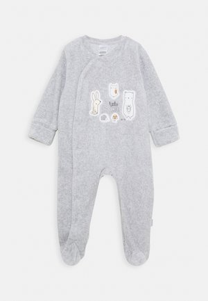 UNISEX - Sleep suit - stone grey melange