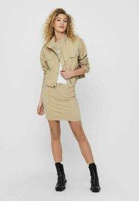 JDY - Summer jacket - beige, off-white, transparent - 1