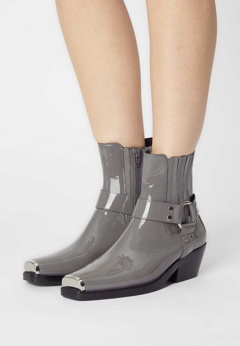 Jeffrey Campbell - POKER - Classic ankle boots - dark grey