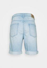Denim Project - MR ORANGE STRIPE - Shorts - blue/white - 1