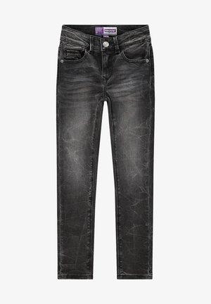 Slim fit jeans - dark grey stone