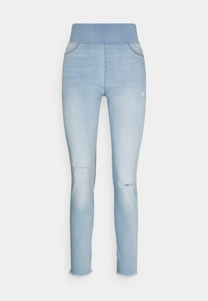 FQSHANTAL ANKLE BROKEN - Slim fit jeans - bleached blue denim