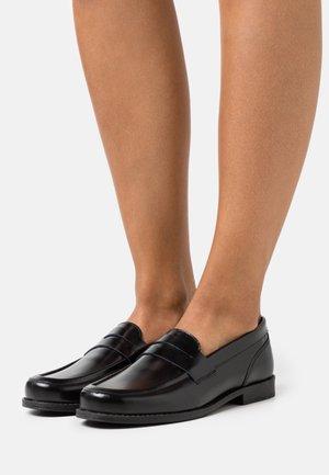 GINZA LOAFER - Slip-ons - black