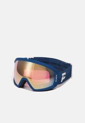 CONTINUOUS UNISEX - Ski goggles - dark blue/dust blue