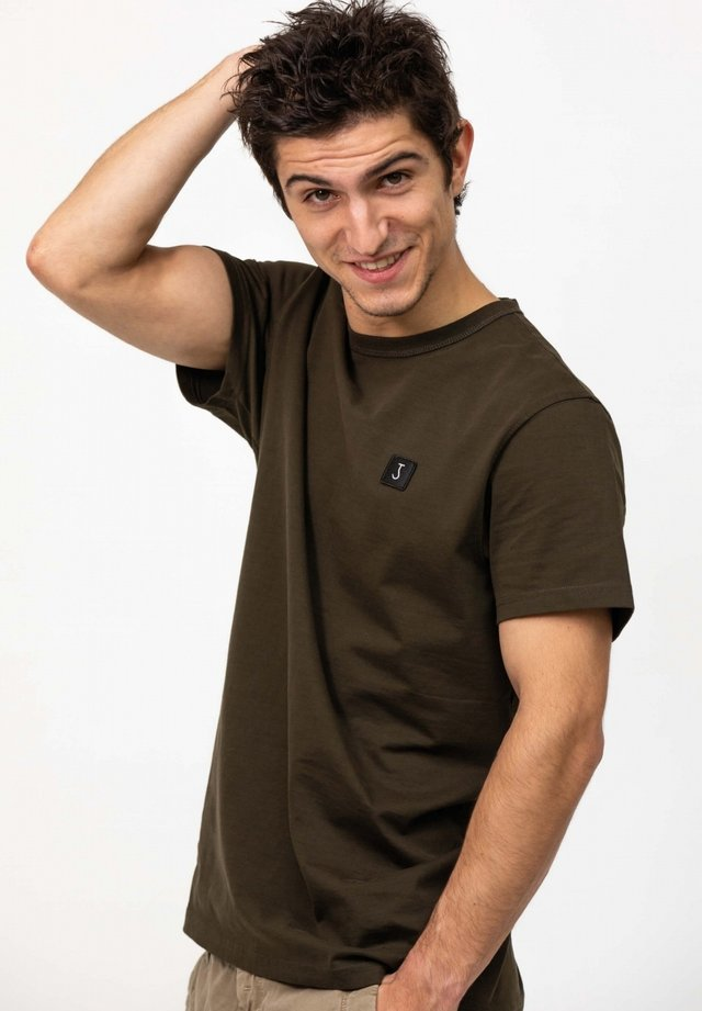 Basic T-shirt - oak green