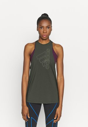 TECH BOS TANK - Sports shirt - legear/leggreenn