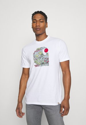 TREASURE - T-shirt med print - white