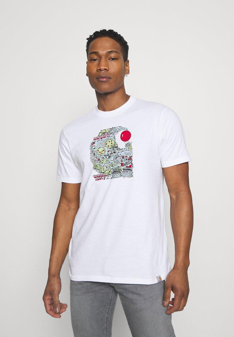 Carhartt WIP - TREASURE - Print T-shirt - white