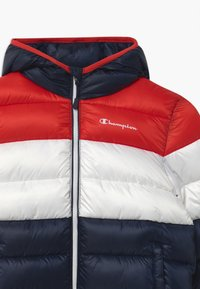 Champion - COLOR BLOCK UNISEX - Winter jacket - dark blue/white/red - 2