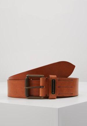 LEDGER BELT - Pásek - chestnut
