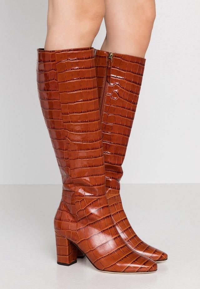 SIRENA - Vysoká obuv - caramel