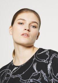 Lauren Ralph Lauren - T-shirt imprimé - black - 3