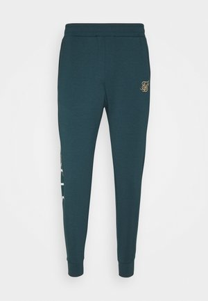 SIGNATURE TRACK PANTS - Tracksuit bottoms - ocean green