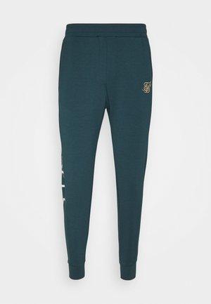 SIGNATURE TRACK PANTS - Joggebukse - ocean green
