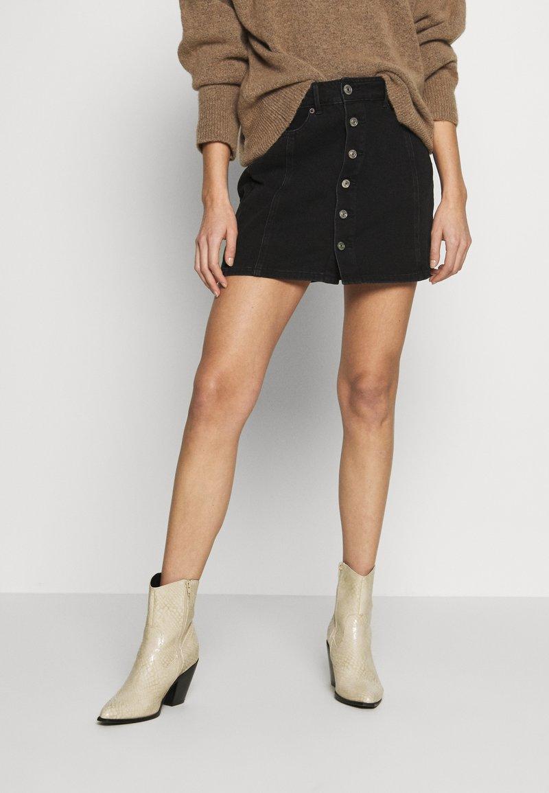 American Eagle - A-line skirt - black