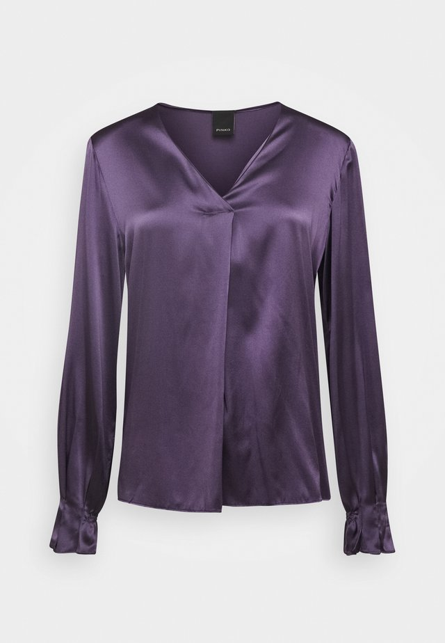 RENZO BLOUSE - Blouse - purple