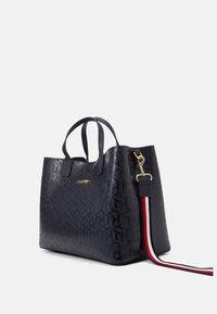 Tommy Hilfiger - ICONIC SATCHEL MONO - Handbag - blue - 3