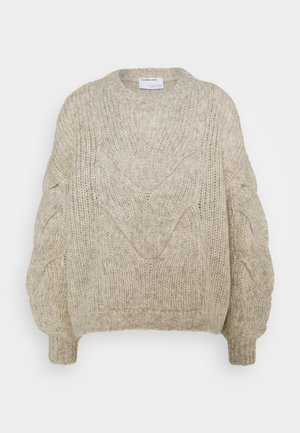 ANTICO CABLE - Sweter - ecru