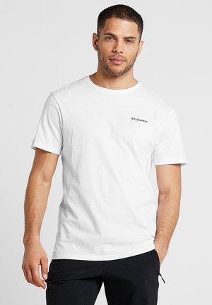 NORTH CASCADES™ SHORT SLEEVE TEE - T-shirt con stampa - white/black