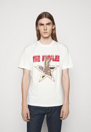 VINTAGE WASHED  - T-shirt z nadrukiem - white
