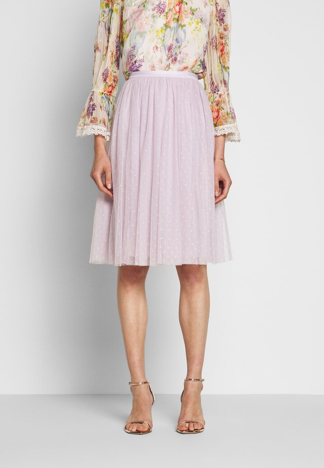 KISSES MIDI SKIRT EXCLUSIVE - A-lijn rok - violet