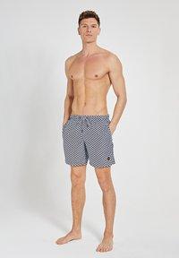 Shiwi - KITE TILE - Swimming shorts - dark navy - 1