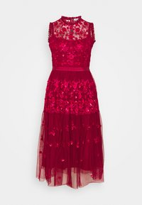 STUDIO ID - EMBROIDED DRESS - Cocktail dress / Party dress - red - 0