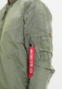 Alpha Industries - Bomber Jacket - sage-green - 3