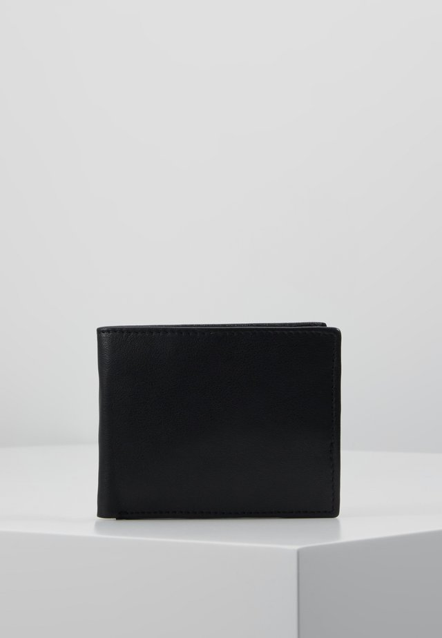 DROP MENS WALLET - Plånbok - black