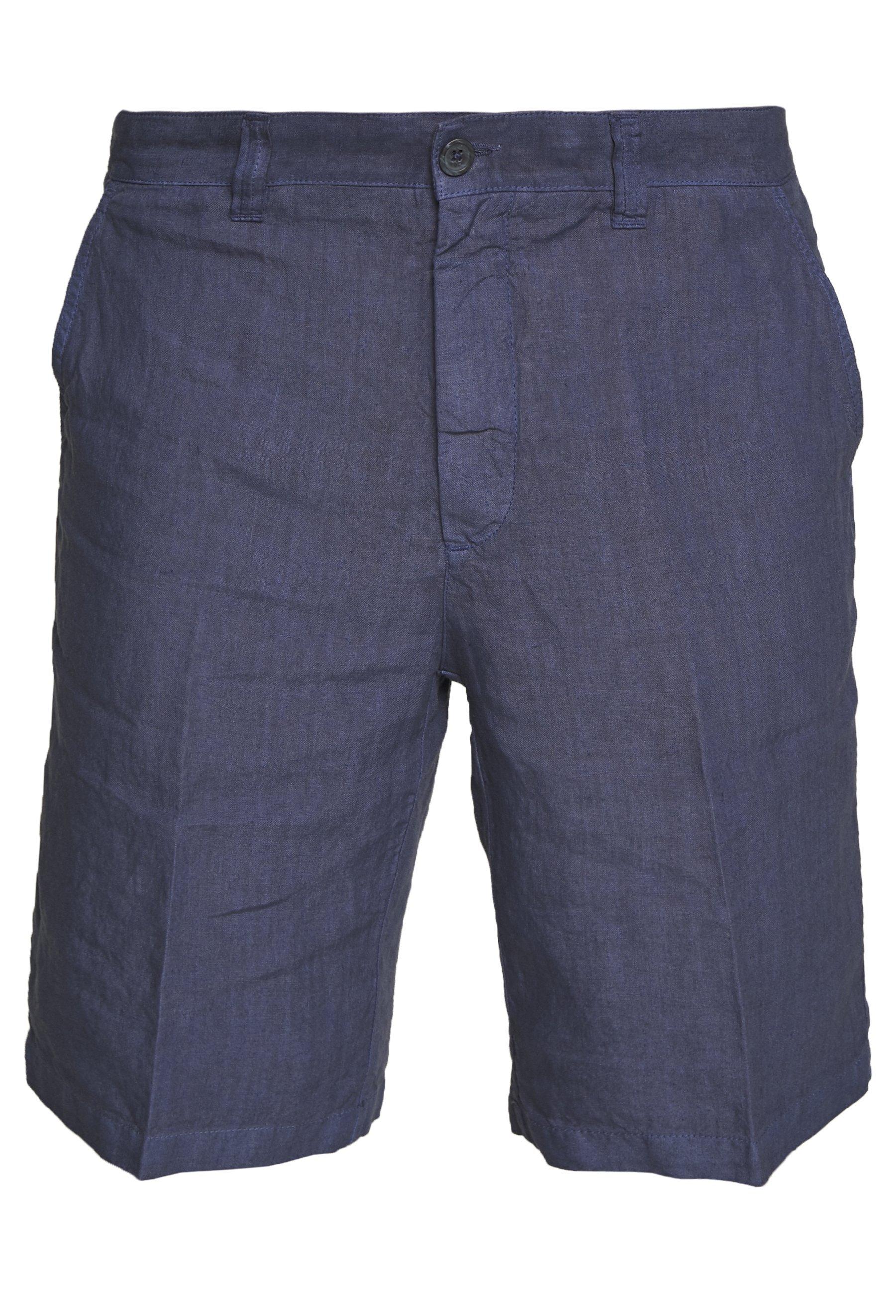 120% Lino Short - dark blue fade