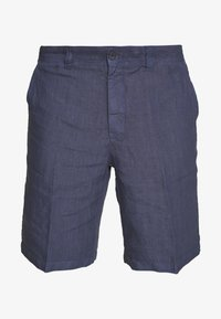 120% Lino - Shorts - dark blue fade - 4