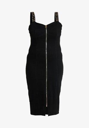 WAY EMBELLISHED STRAP DRESS - Vestito elegante - black