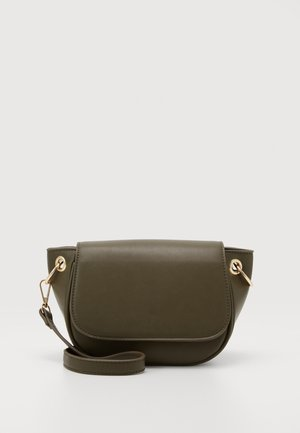 PCSTACI CROSS BODY - Across body bag - khaki green