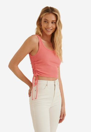 Top - dusty coral