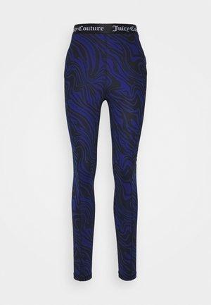 VIVI PRINTED LEGGING - Leggings - sodalite bluewave