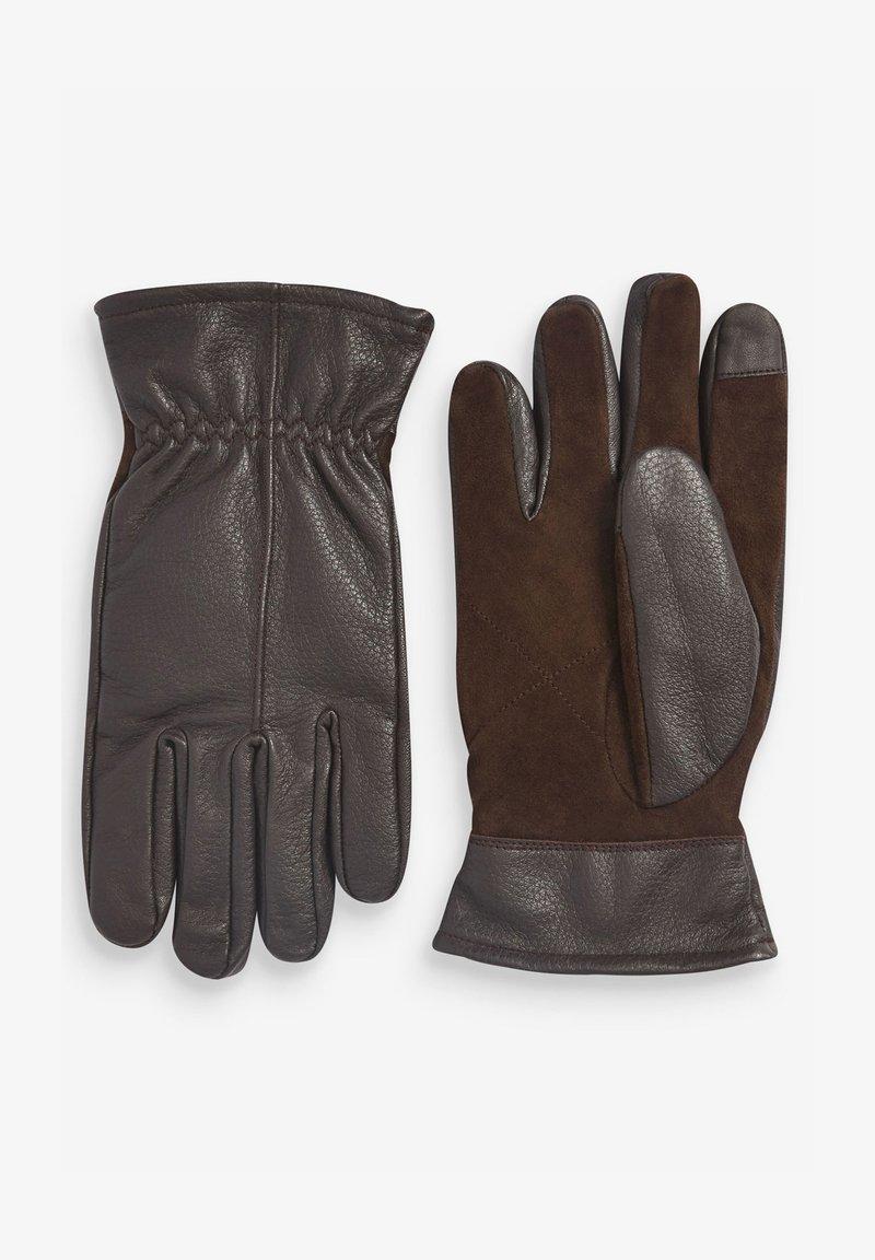 Next - Gloves - dark brown