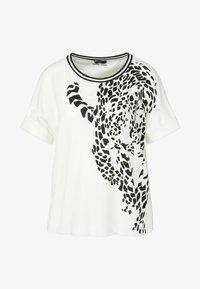 Marc Cain - DAMEN - T-shirt print - offwhite (20) - 3